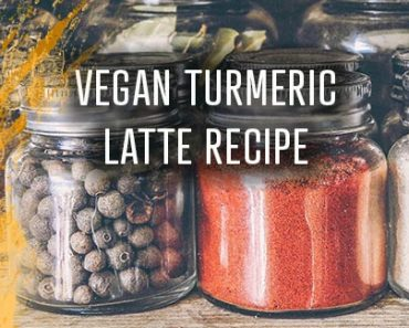 Turmeric Latte Recipe Vegan