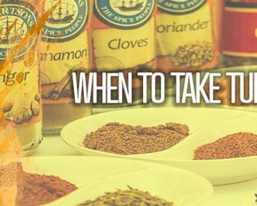 When To Take Turmeric