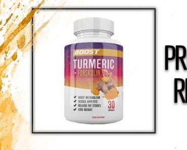 Boost Turmeric + Forskolin