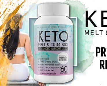 Keto Melt And Trim 800 Review